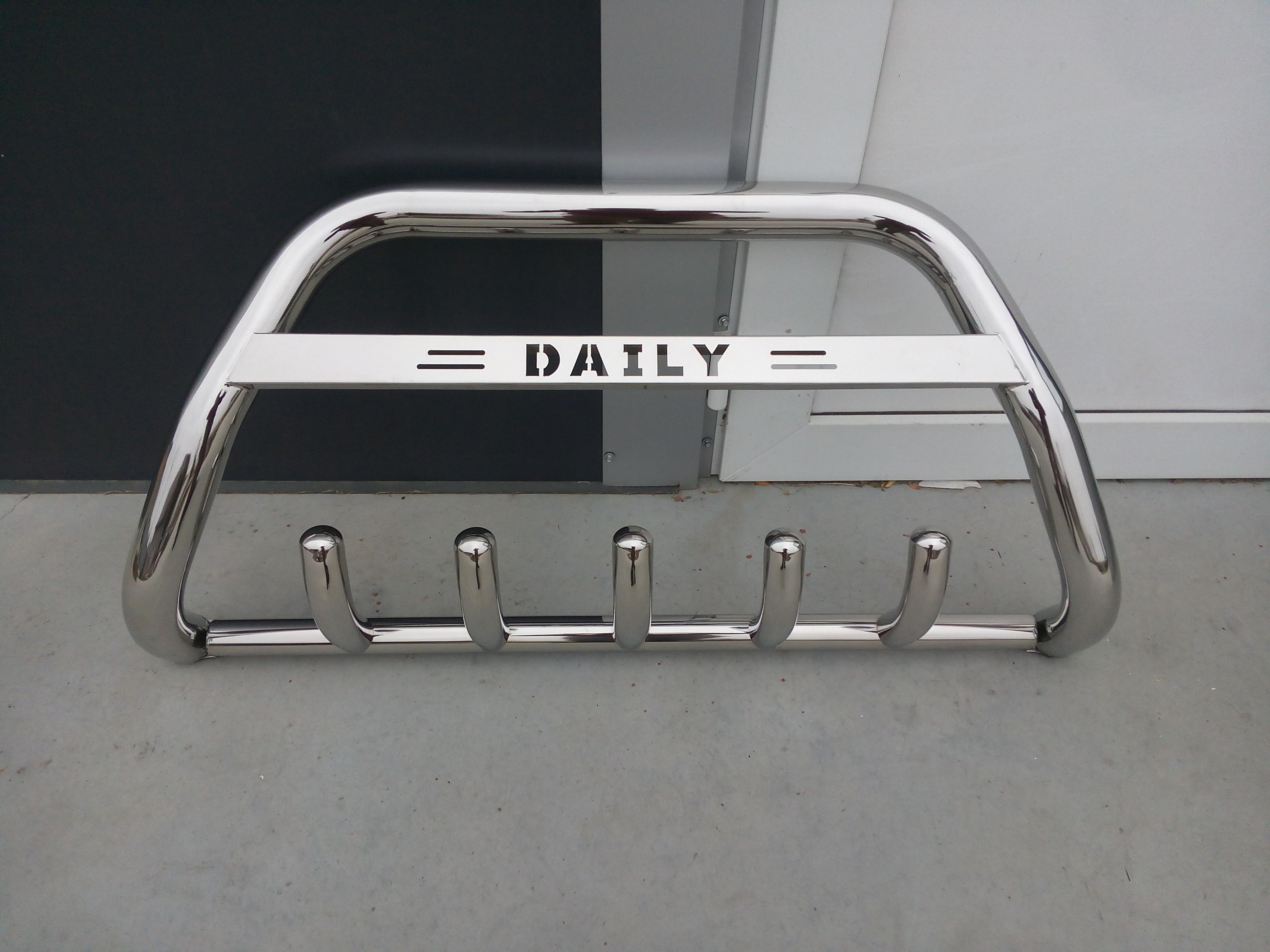 Bullbar inox Iveco Daily 2014-2018